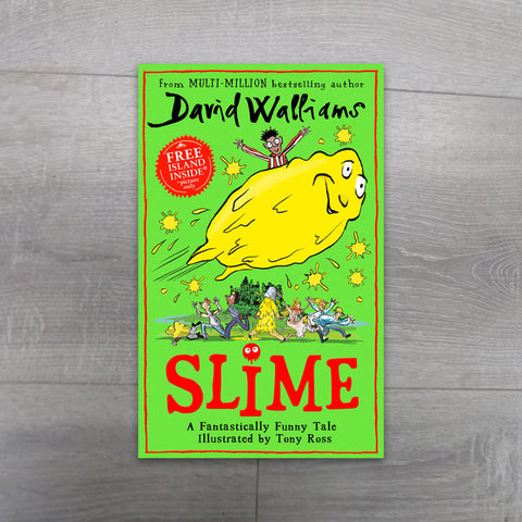 Slime by David Walliams - Salmons Book Store, Ballinasloe, Galway