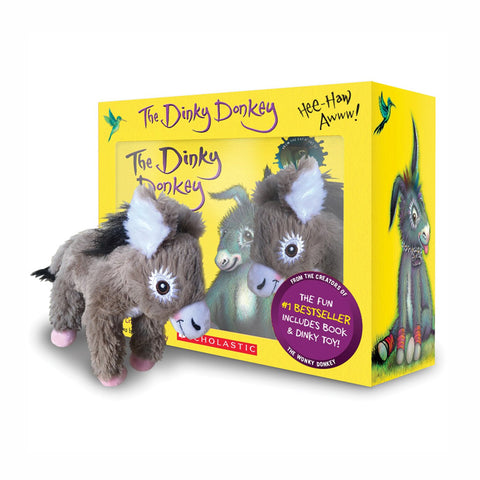 Buy The Dinky Donkey Book & Toy - Salmons Online Book Store, Ballinasloe, Galway