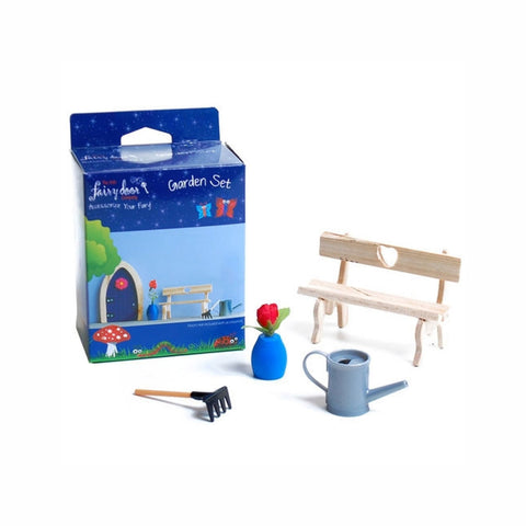 Buy Fairy Door 4pc Garden Accessory Set online - Salmons Toys, Ballinasloe, Galway, Ireland