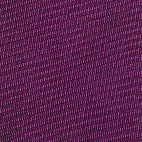 CHARVET Vendome Solid Purple Jacquard Silk Classic Tie NEW