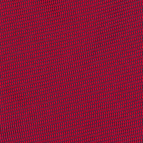 CHARVET Vendome Solid Red Jacquard Silk Classic Tie