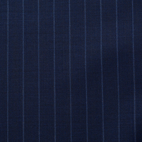 BELVEST Handmade Blue Striped Wool Super 140's Suit EU 54 NEW US 44