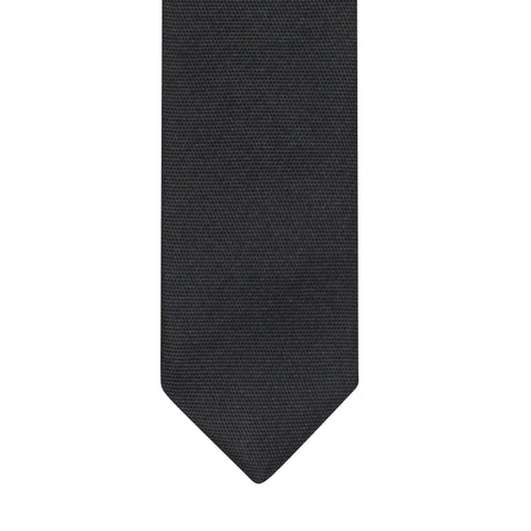 DIOR HOMME Hedi Slimane SS06 Black Super Skinny Tie with Union Jack Motif NEW