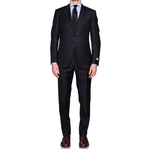 CANALI 1934 Navy Blue Wool Business Suit NEW Current Model