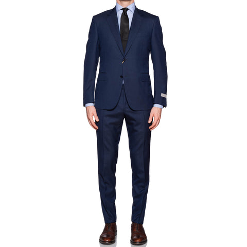 "CANALI 1934 Blue Wool Business ""Travel"" Suit NEW Short Fit Current Model"