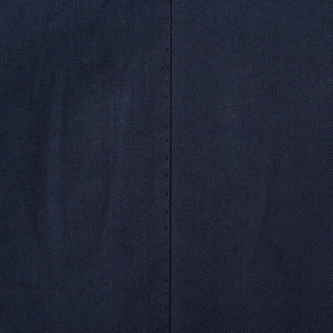 CESARE ATTOLINI Hand Made Navy Blue Cotton Blazer Jacket EU 54 NEW US 44