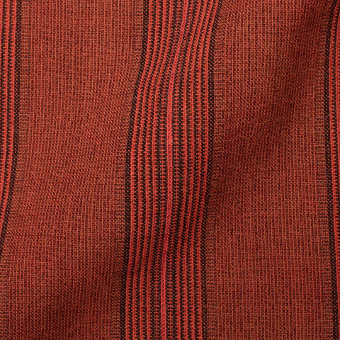 BOGLIOLI Galleria Red Striped Wool-Silk-Linen Unconstructed Jacket 50 NEW US 40