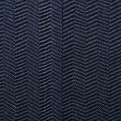 "BOGLIOLI Milano ""K. Jacket"" Navy Blue Herringbone Wool Unlined Jacket 56 NEW 46"