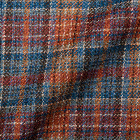 "BOGLIOLI Milano ""K. Jacket"" Plaid Wool-Linen-Cashmere Unlined Jacket 50 NEW 40"