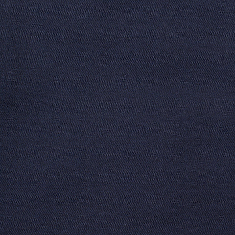 CASTANGIA 1850 Navy Blue Twill Cotton Suit EU 46 NEW US 36