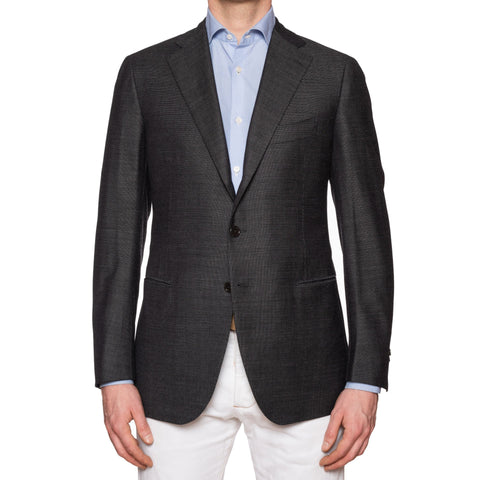 CESARE ATTOLINI for M. BARDELLI Gray Cashmere Wool Super 130's Jacket 50 NEW 40