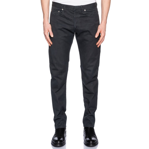 DIOR Homme Made in Italy Dark Gray Cotton Slim Fit Jeans Pants US 33 9H