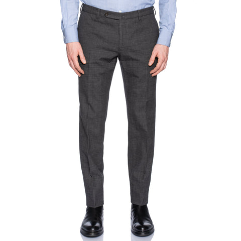 INCOTEX (Slowear) Gray Cotton Dress Pants NEW Slim Fit