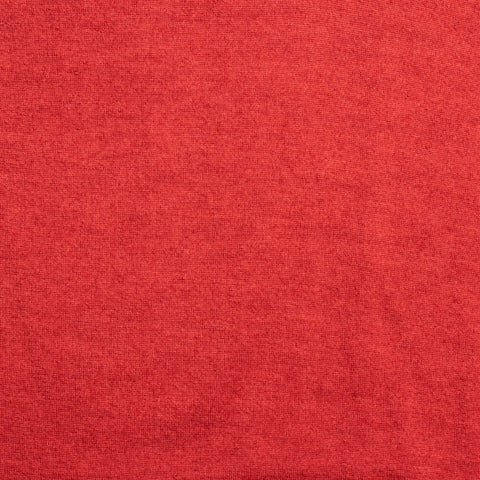 KITON Napoli Handmade Red Cashmere-Silk V-Neck Sweater EU 50 NEW US M