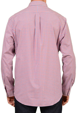 POLO By RALPH LAUREN Gingham Plaid Button Down Cotton Shirt 44 NEW 17.5 XL Slim - SARTORIALE - 2