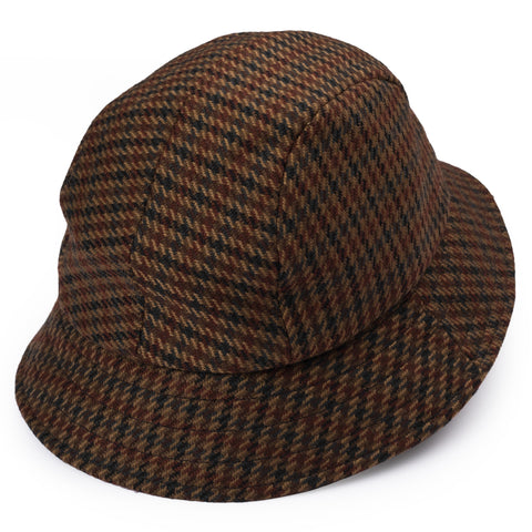 "RUBINACCI London House by Herbert Johnson UK Wool Tweed ""Bucket Hat"" M-56"