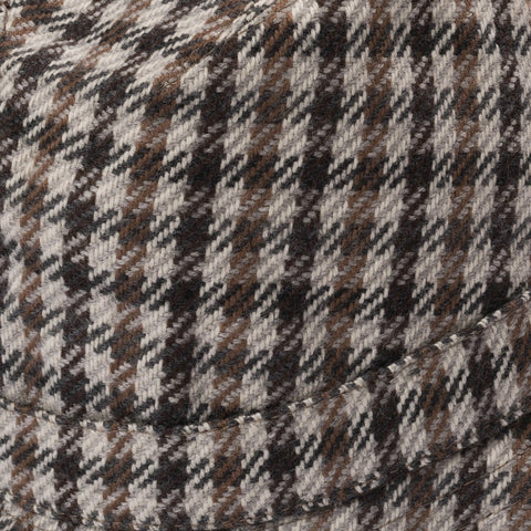RUBINACCI London House by Herbert Johnson UK Wool Tweed Humphrey Hat 6 7/8-53cm