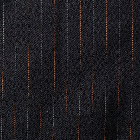 SARTORIA CASTANGIA Black Striped Wool Suit EU 54 NEW US 44