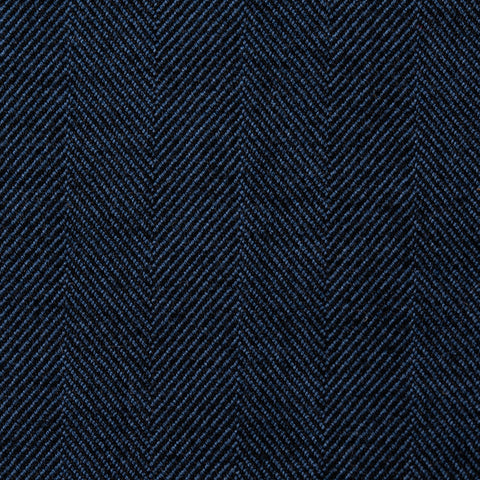 Sartoria PARTENOPEA Hand Made & Washed Blue Cotton DB Jacket EU 50 NEW US 40