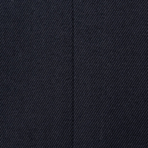 Sartoria PARTENOPEA for SULKA Hand Made Navy Blue Cotton-Cashmere Blazer Jacket
