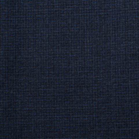 Sartoria CHIAIA Bespoke Blue Wool Super 130's Flat Front Dress Pants 52 NEW US 36