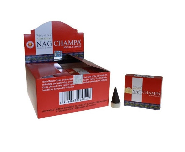 Incenso Cones - Golden Nag Champa