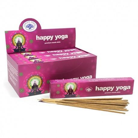 Incensos Green Tree - Happy Yoga