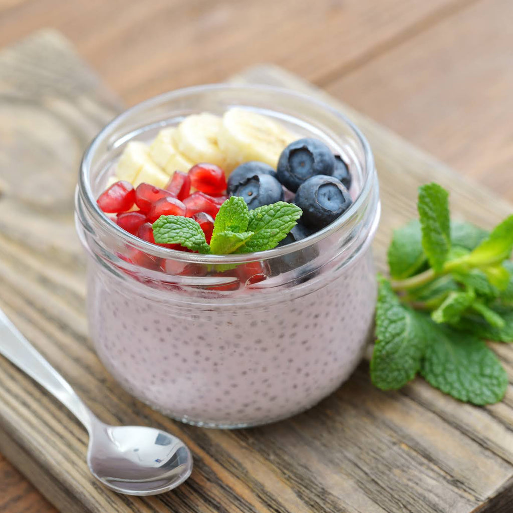 Chia Seeds Pudding Recipe With Just 3 Ingredients