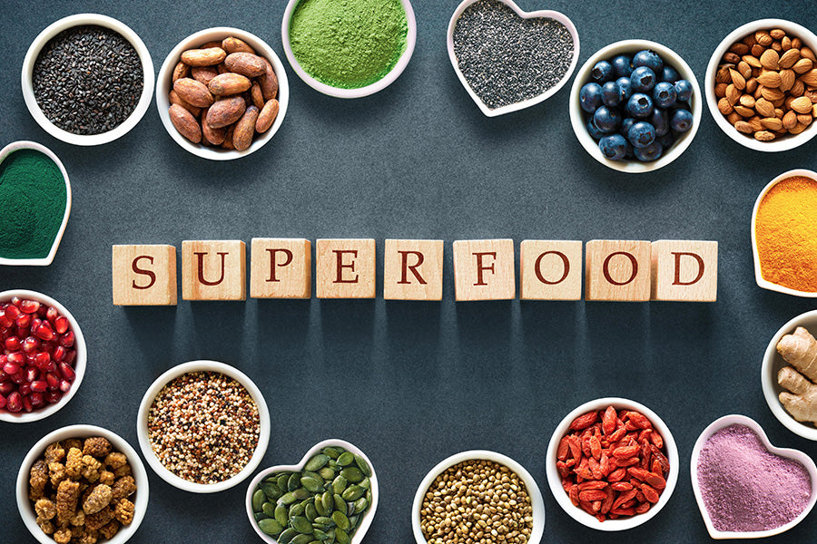benefits of superfoods for skin