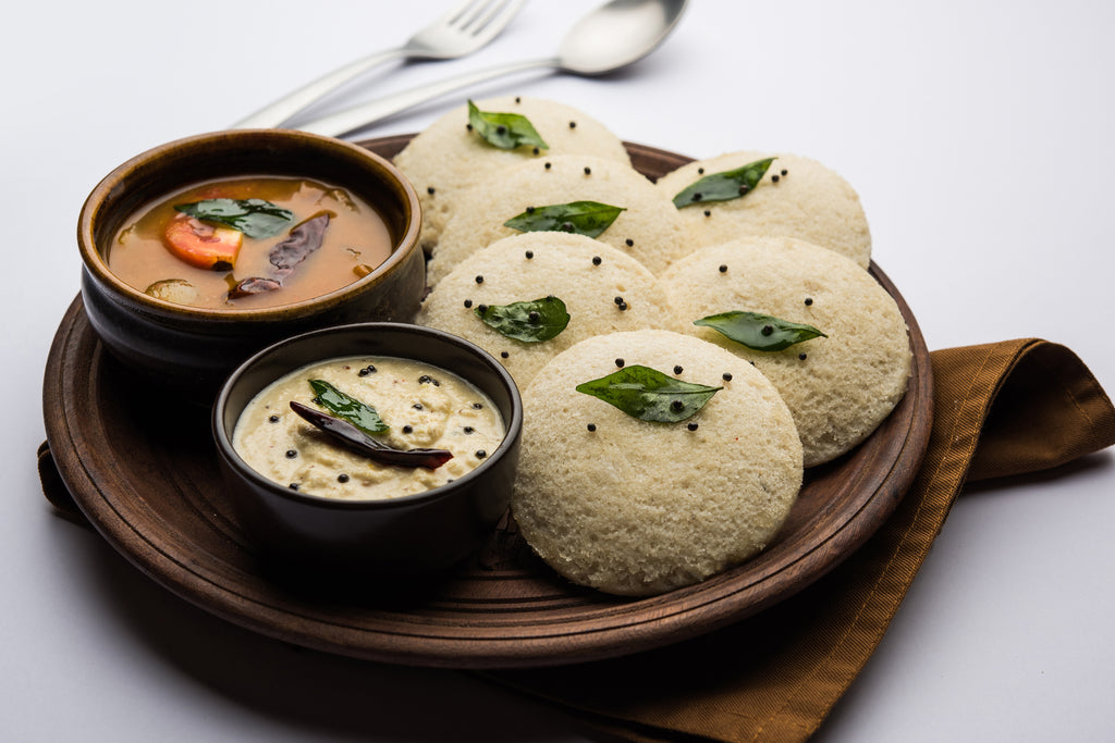 Healthy Breakfast - Quinoa Idlis