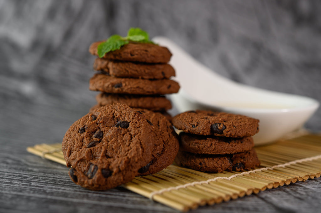 Teff Flour Chocolate Chip Cookies