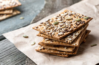 Mixed nut and seed crackers snack recipe