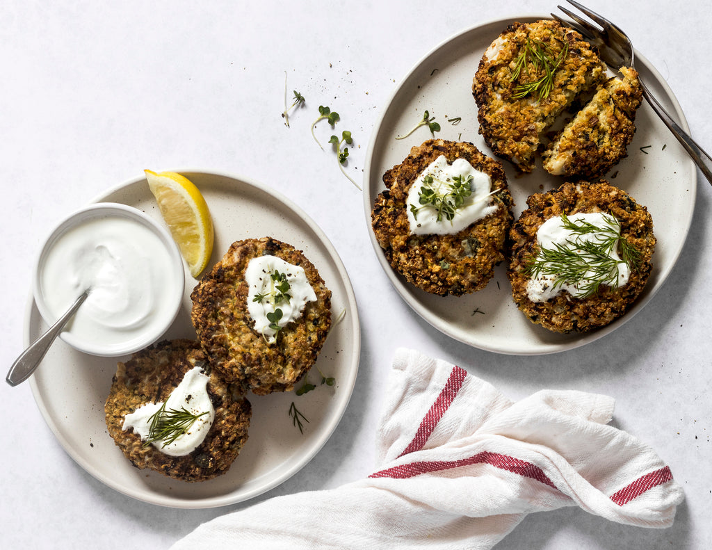 Quinoa Cutlets with Sunflower Seed Dip Recipes