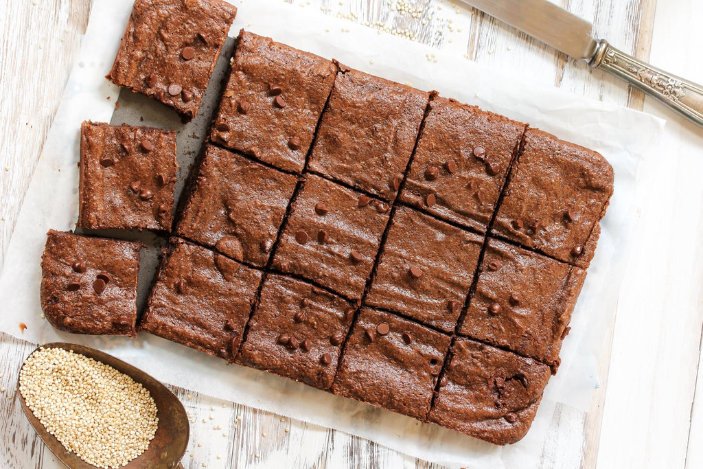 Quinoa Chocolate Brownies Recipe