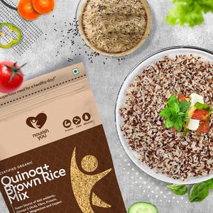 QUINOA WITH BROWN RICE MIX | 500g
