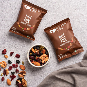 CRANBERRY WALNUT NUT MIX | 210g