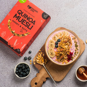 QUINOA MUESLI - HONEY AND NUTS |  375g