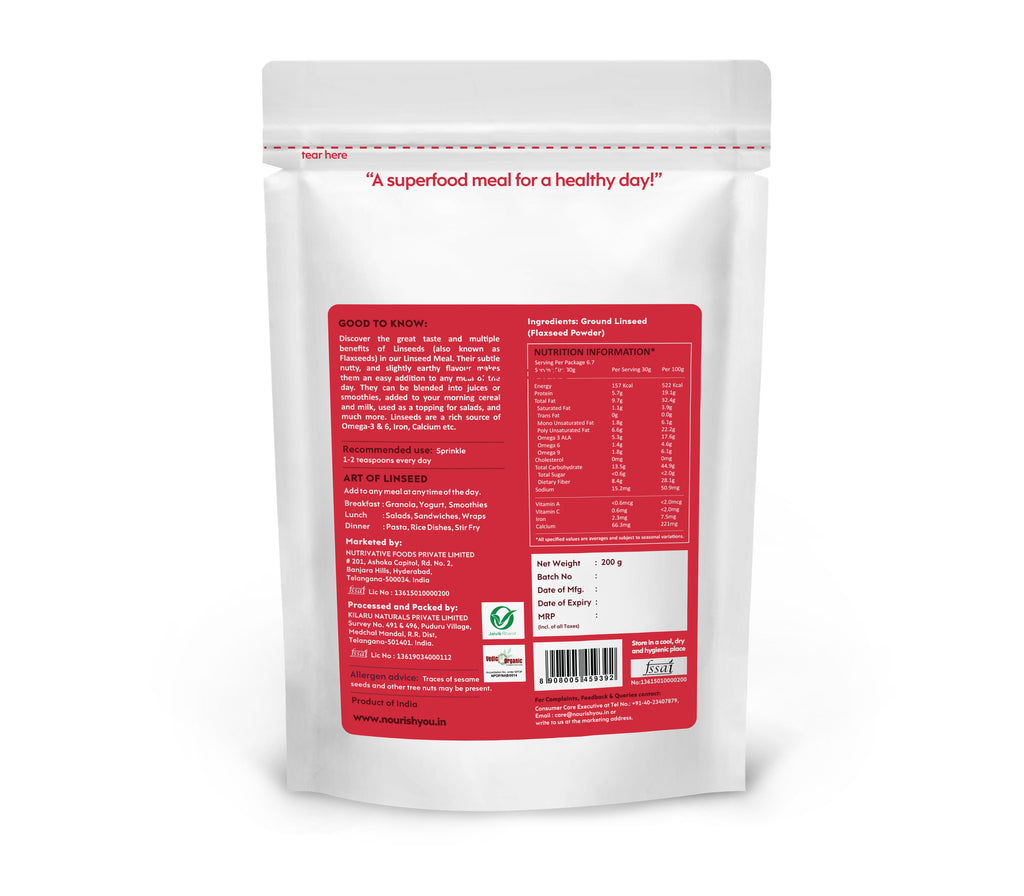 LINSEED MEAL | 200G