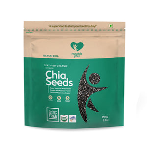 BLACK CHIA SEEDS - Nourish You