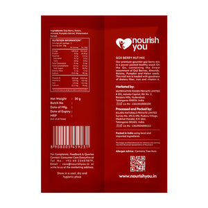GOJIBERRY NUT MIX | 30g - Nourish You