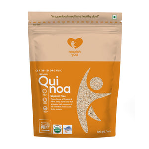 PREMIUM WHITE QUINOA | 500g - Nourish You
