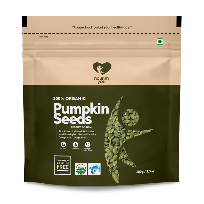 PUMPKIN SEEDS | 100g - Nourish You