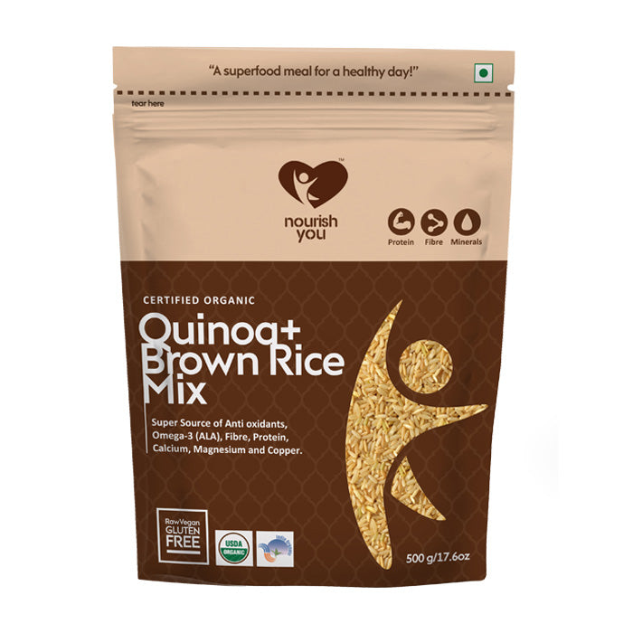QUINOA WITH BROWN RICE MIX | 500g - Nourish You