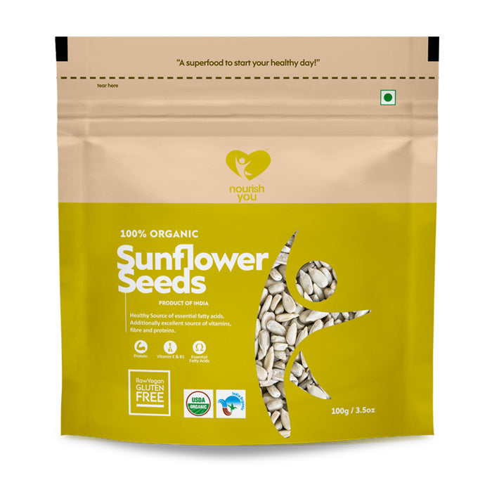 SUNFLOWER SEEDS | 100g - Nourish You
