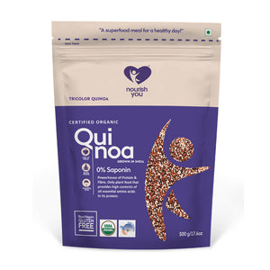 TRICOLOR QUINOA | 500g - Nourish You