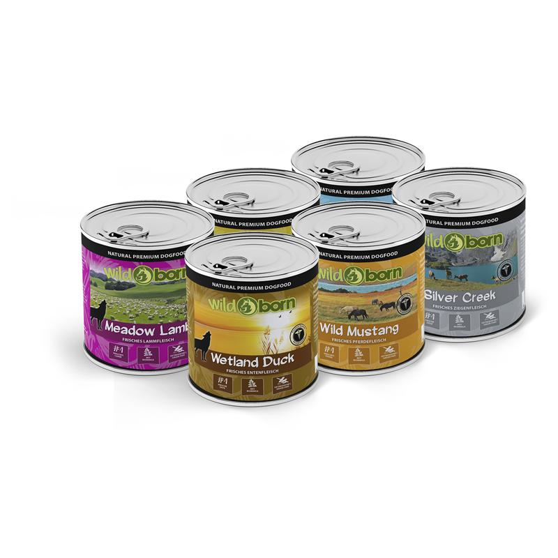 Wildborn Nassfutter Multipack