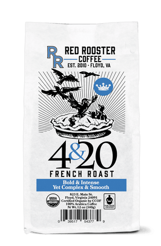 4 & 20 French Roast FTO Blend - Red Rooster