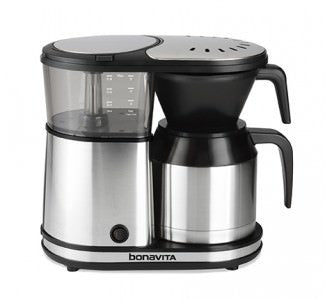 Bonavita 5-Cup Coffee Brewer with Stainless Steel Lined Thermal Carafe