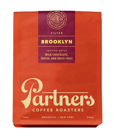 Brooklyn Filter Blend - Partners Coffee