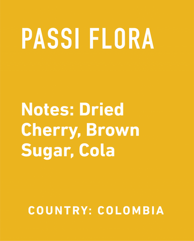 Colombia Passi Flora - Topeca Coffee